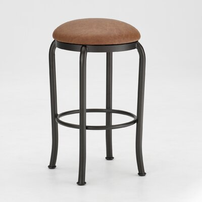 "Tempo Sanford 30"" Backless Swivel Bar Stool"