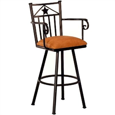 "Tempo Ft. Worth 34"" Extra Tall Bar Stool"