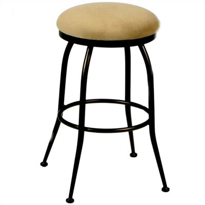 "Tempo David 30"" Backless Bar Stool"