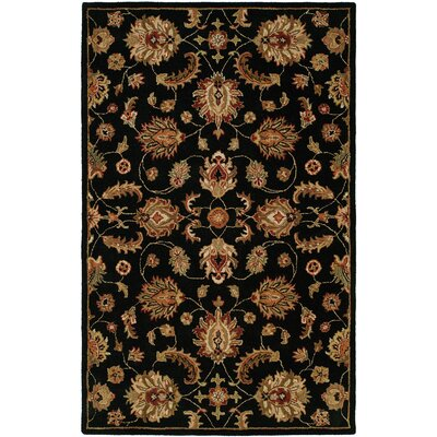 Harounian Rugs International Pars Kashan Black Rug