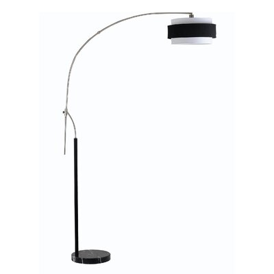 Cal Lighting Santa Monica Arc Floor Lamp