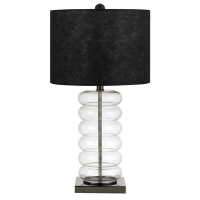 "Cal Lighting Bastia 26"" H Table Lamp with Drum Shade"