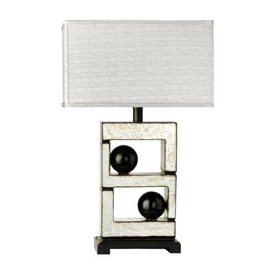 "Cal Lighting Bolzano 29"" H Table Lamp with Rectangle Shade"