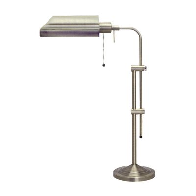 Cal Lighting Pharmacy Table Lamp in Brushed Steel