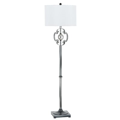 Cal Lighting Sondrio Metal and Iron Floor Lamp