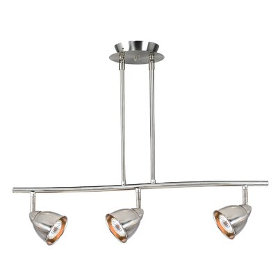 Cal Lighting Serpentine 3 Light Track Light with Cone