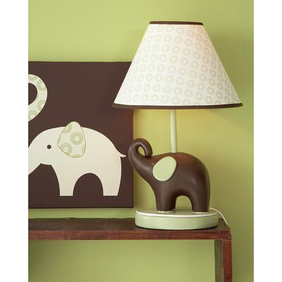 Carter's® Green Elephant Table Lamp
