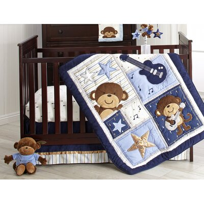 Jungle Crib Bedding Collection