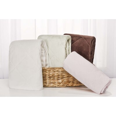 Carter's Basics Velour Quilted Playard Fitted Sheet