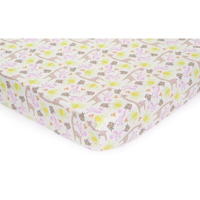 Carter's Jungle Jill Fitted Sheet
