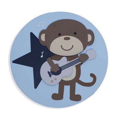 Carter's® Monkey Rockstar 3D Wall Art