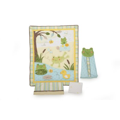 Carter's In The Pond 4 Piece Crib Bedding Set