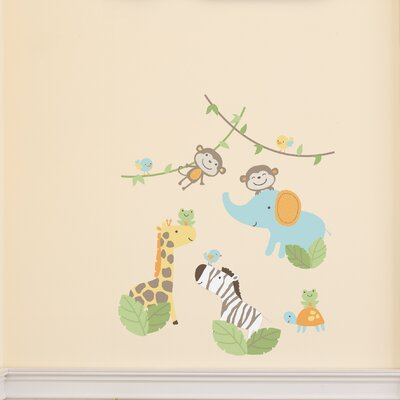 Carter's Jungle Play Wall Decal (Set of 4)