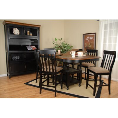 Comfort Decor Alta Vista 7 Piece Counter Height Dining Set