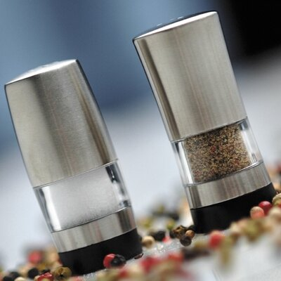 BergHOFF International Mini Salt and Pepper Shaker Set