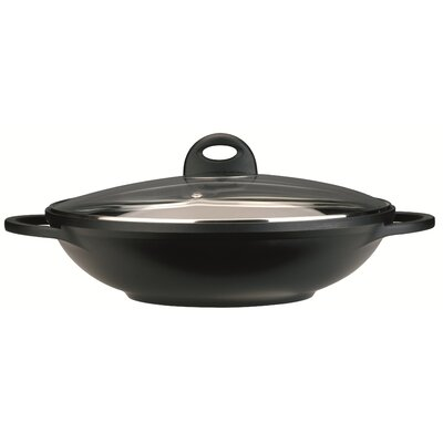 Cook & Co 12.5-in. Non-Stick Wok with Lid