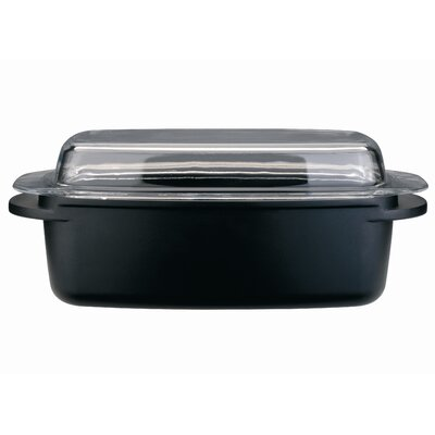 Cook & Co 12.5-in, Non-Stick Roasting Pan with Lid