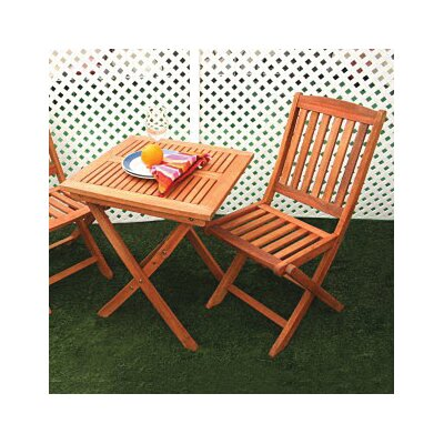 Glaser 2 Piece Folding Dining Set