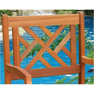 Vifah Atlantic Dining Arm Chair