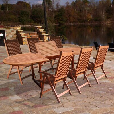 Vifah Vista 7 Piece Dining Set