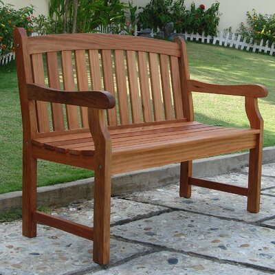 Vifah Outdoor Furniture Wood Garden Bench & Reviews | Wayfair