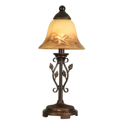 Dale Tiffany Leaf Vine 1 Light Mini Table Lamp