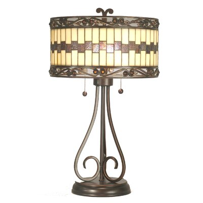 Dale Tiffany Giuseppe 2 Light Table Lamp