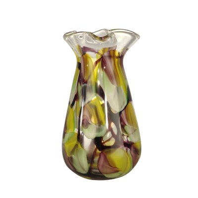 "Dale Tiffany 13.4"" North Shore Vase"