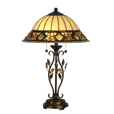 Dale Tiffany Pebblestone Table Lamp