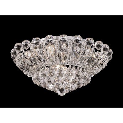 Dale Tiffany Lake Hill 8 Light Flush Mount