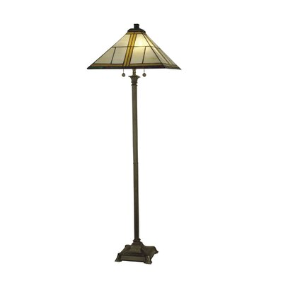 Dale Tiffany Mission 2 Light Floor Lamp