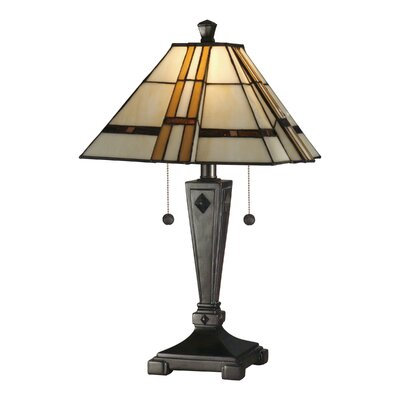 Dale Tiffany Atherton 2 Light Table Lamp