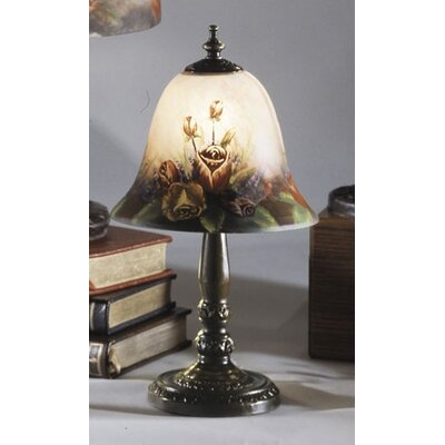 Dale Tiffany Handale Garden Rose Bell Table Lamp