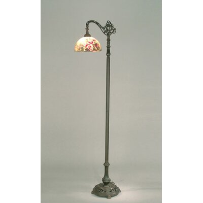 Dale Tiffany Glynda Turley Rose Dome Reading Floor Lamp