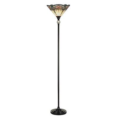 Dale Tiffany Glynda Turley Rose Dome Reading Floor Lamp