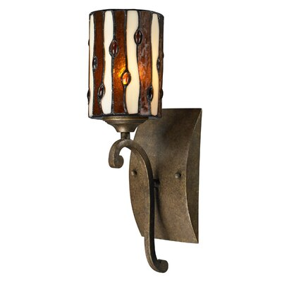 Dale Tiffany Diamond Hill 1 Light Wall Sconce
