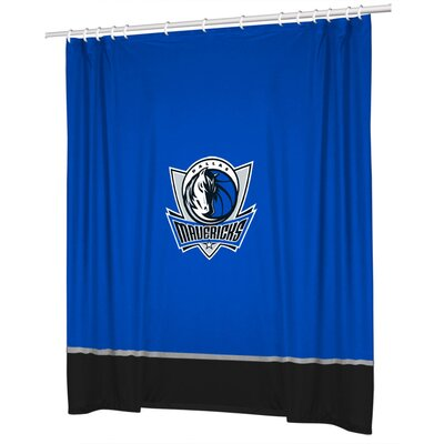 Sports Coverage Inc. NBA Sidelines Shower Curtain