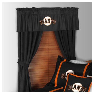 Sports Coverage Inc. MLB Rod Pocket Drape Single Panel
