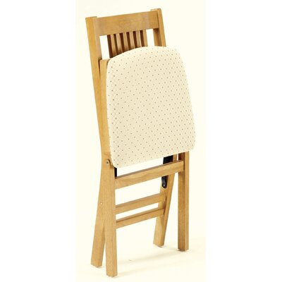 stakmore simple mission wood folding chair oak reviews