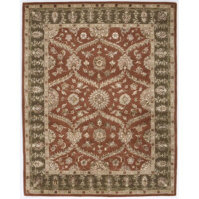 Dynasty Rustic Brown Rug