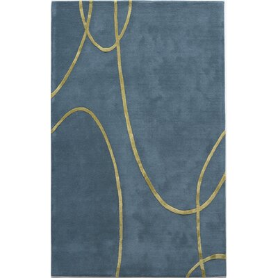 Rugs America Millennium Electric Blue Rug
