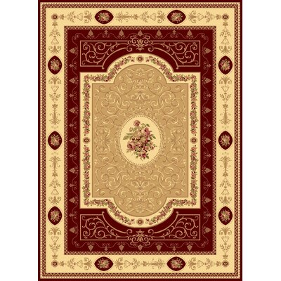 New Vision Cherry French Aubusson Rug