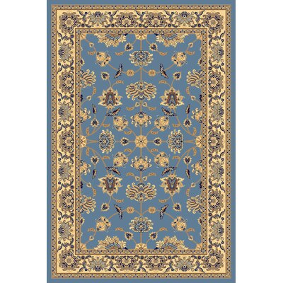 Rugs America New Vision Light Blue Kashan Rug