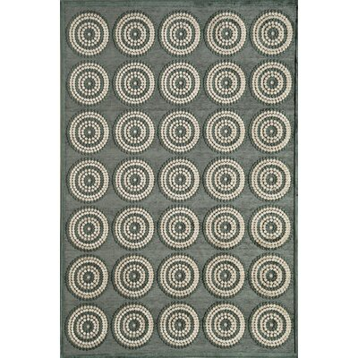 Rugs America Salerno Teal Beads Rug
