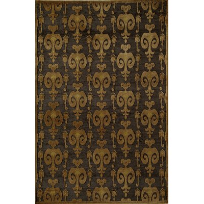 Rugs America Salerno Brown Ikat Rug