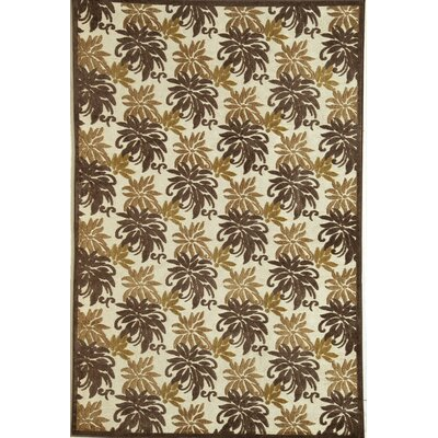 Rugs America Salerno Chocolate Palms Rug