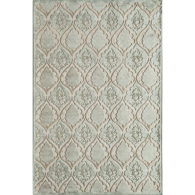 Rugs America Salerno Light Blue Panel Rug