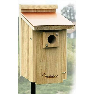 Audubon Cedar Bluebird Birdhouse Reviews Wayfair