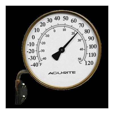 Chaney Thermometer Brass
