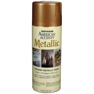 AmericanAccents 11 Oz Classic Bronze Designer Metallic Paint Kit